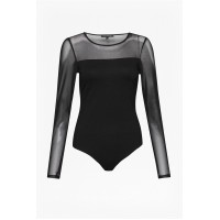 French Connection Allie Bodysuit Black