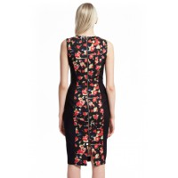 French Connection Bella Ottoman Floral Dress