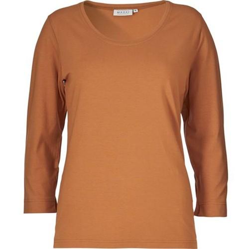 Masai Clothing Cream Top Amber