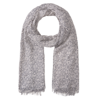 Olsen Navy and Cream Scarf