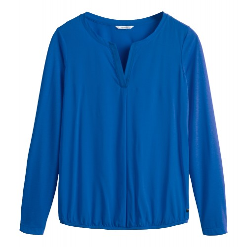 Sandwich Clothing Royal Blue Top
