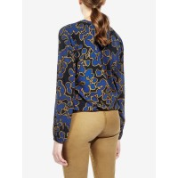 Sandwich Clothing Printed Blouse