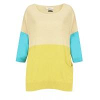 Sandwich Clothing Block Colour Jumper