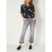 Sandwich Clothing Cropped Jeans Grey Denim