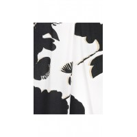 Sandwich Clothing Long Black and White Shirt