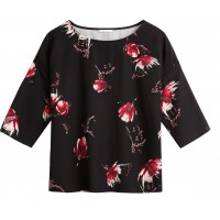 Sandwich Clothing Red Floral Top