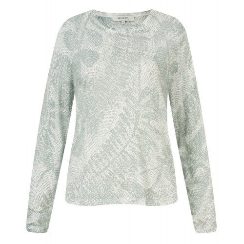 Sandwich Clothing Dove Grey and White Top
