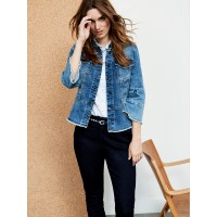 Sandwich Clothing Blue Denim Jacket