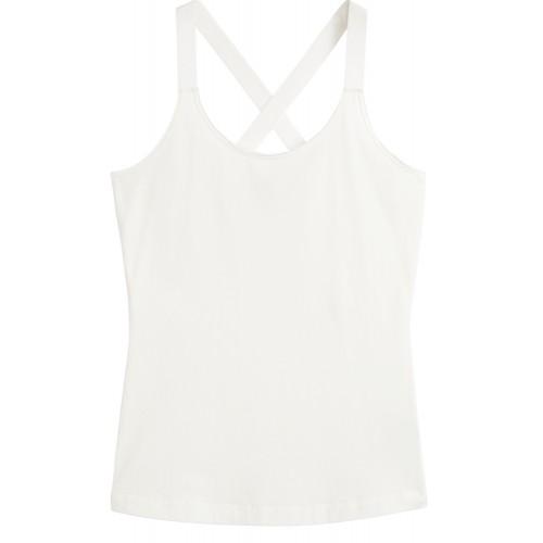 Sandwich Clothing Cream Crossover Back Vest