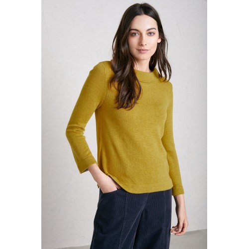 Seasalt Gulf Jumper Dark Hay