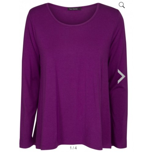 Two Danes BUBA Top Heather Violet