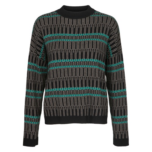 Two Danes Fia Jumper Black