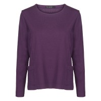 Two Danes Heidi Top Dark Purple