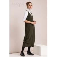 Naya V neck Parachute Dress