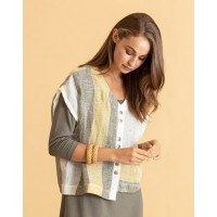 Naya Linen Block Top