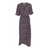 Soyaconcept Adisa Pink Animal Print Dress