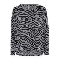 Soyaconcept Biara Zebra Print Jumper