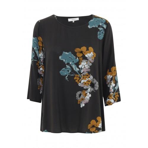 Soyaconcept Black Floral Top
