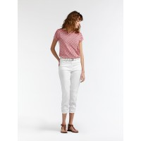 Sandwich Clothing Cropped Trouser White